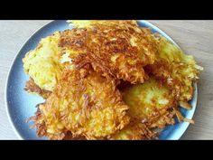 PLACKI ZIEMNIACZANE BARDZO CHRUPIĄCE! ZASKOCZYSZ SIĘ JAKIE PYSZNE! - YouTube Macaroni And Cheese, Meat, Chicken, Ethnic Recipes, Youtube, Puffer, Food, Polish, Grains