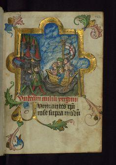 Illuminated manuscript, Prayer book of Bishop Leonhard von Laymingen of Passau, Legend of St. Ursula, Walters Manuscript W.163, fol. 162r by Walters Art Museum Illuminated Manuscripts, via Flickr
