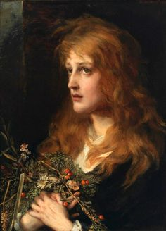 Ophelia - Anna Lea Merritt - (American: 1844 - 1930)