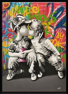 I Love Graffiti and You by Seaty