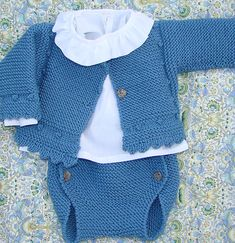 Baby Boy Knitting, Knitting For Kids, Baby Knitting Patterns, Baby Sewing, Tricot Baby, Knitted Baby Clothes, Crochet For Boys, Baby Cardigan, Baby Sweaters