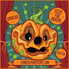 Pumpkin Carving Patterns and Stencils - Zombie Pumpkins! - About