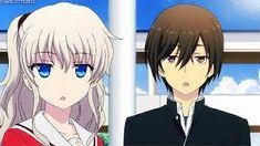 Yuu Otosaka and Nao Tomori Charlotte Anime, Slice Of Life, Me Me Me Anime, Anime Guys, Best Cartoon Shows, Magical Warfare, Otaku, Reaction Face, Couple Romance
