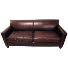 Crate And Barrel Hennessy Leather Sofa | Goodca Sofa