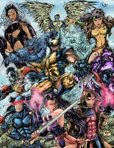 X-Men Collection by i3i11theWi11 on DeviantArt