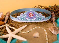 Disney Preschool Printable: Ariel's Crown