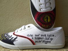 The Hobbit An Unexpected Journey Shoes by DreamsByRae on Etsy, $39.99