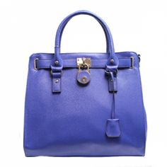 Royal Blue Tote Bag at the Shopping Mall, $58.49 (USD)