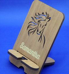 Equestrian  iPhone stand  Horse gift  Horse  by BestestEverGifts