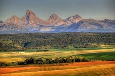 View of the #Tetons from the best side--the #Idaho side! | Visitidaho.org