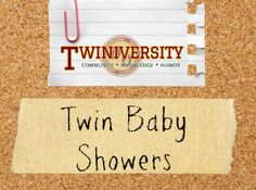 From themes to games, Twiniversity has you covered on all things concerning a twin (ore more) baby showers!
