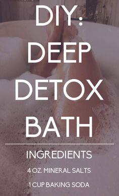 DIY Detoxifying Bath Soak