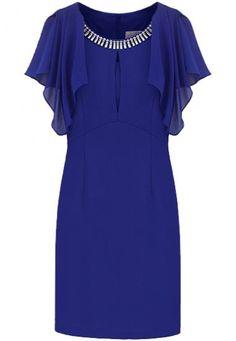 Shop Blue Ruffles Sleeve Rhinestone Bodycon Chiffon Dress online. SheIn offers Blue Ruffles Sleeve Rhinestone Bodycon Chiffon Dress & more to fit your fashionable needs.