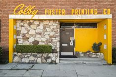Colby Poster Printing Company, Photo by Joshua White.