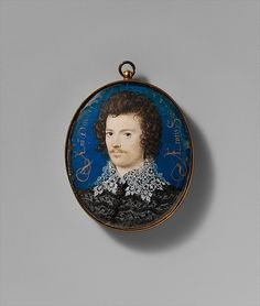 """Nicholas Hilliard (British, ca. 1547–1619). Portrait of a Young Man, Probably Robert Devereux (1566–1601), Second Earl of Essex, 1588. The Metropolitan Museum of Art, New York. Fletcher Fund, 1935 (35.89.4)   This work is featured in """"In Miniature,"""" on view through December 31, 2014."""