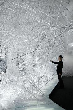 Tokujin Yoshioka : Snowflake