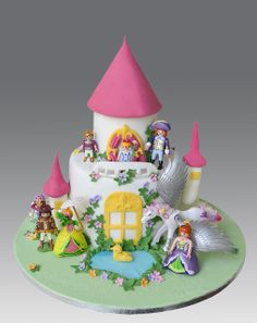 Playmobil Princess Castle Cake | Flickr - Photo Sharing!