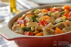 Receita de Frango com legumes e cerveja em receitas de aves, veja essa e outras receitas aqui!