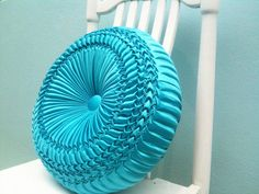 Big Size Home Decor Pillow  Cotton Smock ♥ by JanyarakDesign, $49.00
