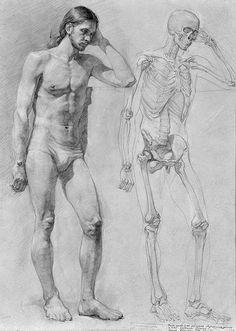 Male figure academic art