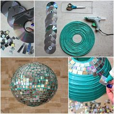 to make a disco ball? It& easy. Check out our tutorial and enjoy carn. How to make a disco ball? It's easy. Check out our tutorial and enjoy carn., How to make a disco ball? It's easy. Check out our tutorial and enjoy carn. 80s Theme, Theme Halloween, New Years Party, Decade Party, Paper Lanterns, Party Themes, Disco Theme Parties, Party Ideas, Disco Party Decorations