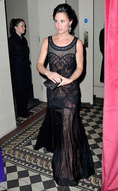 Fabulously Spotted: Pippa Middleton Wearing Temperley London - Sugarplum Ball  - http://www.becauseiamfabulous.com/2013/11/pippa-middleton-wearing-temperley-london-sugarplum-ball/