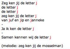 Letterlied J (melodie mosselman)