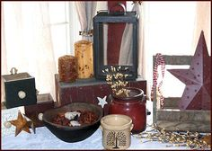 Assortment of Primitive/Country Decor
