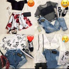 Which one do you like 💝?? Western Girl Outfits, Overall Shorts, Overalls, Fashion Outfits, Polyvore, Image, Clothes, Women, Tall Clothing
