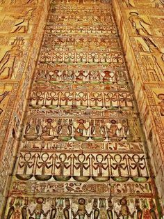 The gate of Ptolemy lll,karnak Temple
