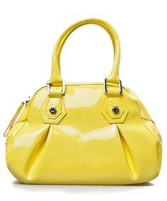 Gianfranco Ferre Round Shoulder Bag In Yellow Designer Bags Handbags Secret S
