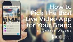 Facebook, Instagram, Twitter, and Periscope all offer live video broadcasting to users. With multiple apps to choose from, the question becomes, which app is best for your brand? To select the best app for your brand, you must consider your goals, your au Email Marketing, Content Marketing, Social Media Marketing, Business Goals, Business Tips, Live Video App, Search Optimization, Website Maintenance, Search Engine Marketing