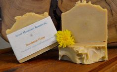 Azure Mountain ~ All Natural Handcrafted Soaps! Tamanu Oil, Essential Fatty Acids, Sunflower Oil, Dandelions, Vitamin E, Sensitive Skin, Artisan, Honey, Soap