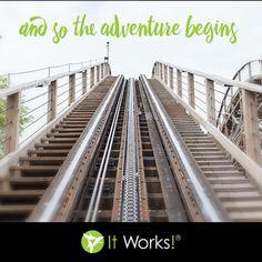 Enjoy the ride ! #ItWorksAdventure