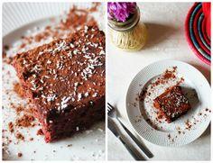 Chá & Girassóis: Brownies de Beterraba e Chocolate (Receita Original: Mafalda Pinto Leite)