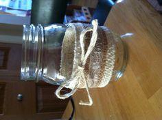 Mason jar for weddings