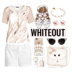 Plus Size Whiteout by bamaannie