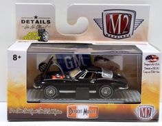 1:64 M2 MACHINES DETROIT-MUSCLE RELEASE 35 - 1966 CHEVROLET CORVETTE 327 #M2Machines #Chevrolet