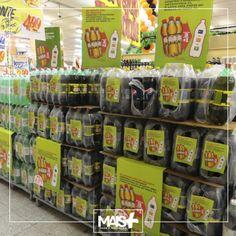 Implantação de material de mershan em todos os mercados Guanabara!!!