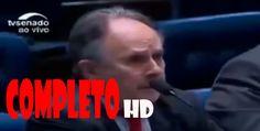 """Cristovam Buarque abre o voto e detona o """"Golpe"""". -  HD COMPLETO"""