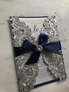 White and gold silver navy blue blush red Wedding Quince Invitations, Homemade Wedding Invitations, Silver Wedding Invitations, Sweet 16 Invitations, Wedding Invitation Cards, Wedding Cards, Invitation Ideas, Red Silver Wedding, Navy Wedding Colors