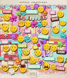 Cutesy Emoticons