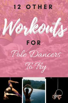 12 other sports for pole dancers to try, other workouts for pole dancers, fitness inspiration, motivation Aerial Dance, Aerial Hoop, Aerial Silks, Hula Hoop, Pilates Reformer, Pilates Workout, Portable Dance Pole, Dancer Workout, Pilates For Beginners