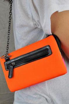 Small Neon Neoprene Bag - Jondie