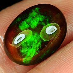"""Thanks for the kind words! ★★★★★ """"Exceeded my expectations! The best opals I have ever seen! """" Olga M. http://etsy.me/2CHEAAT #etsy #Opal #BlackOpal #EthiopianBlackOpal #natural #gemstone #ethiopia  #playofcolor"""