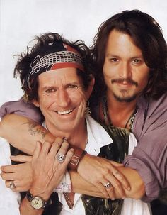 Keith and Johnny