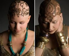 Gorgeous Henna Crown