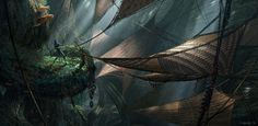 Avatar Concept Art by Dylan Cole
