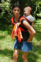 This gal is awesome at teaching every baby wearing wrap style under the sun!