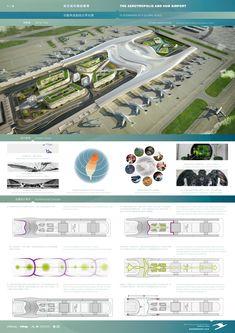 Airport Design, Futuristic Architecture, Thesis, Van, Future, Studio, Airports, Future Tense, Futurism